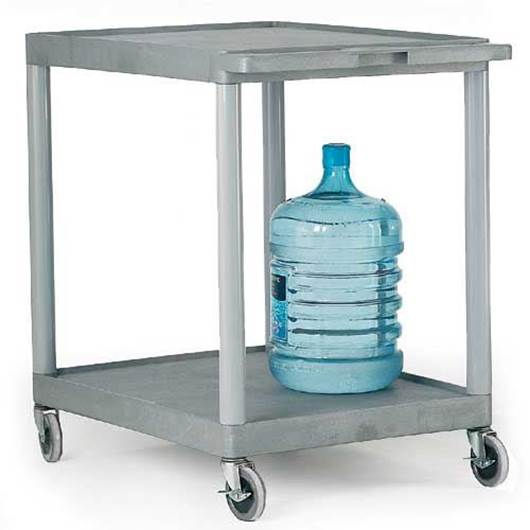 Picture of Large Grey 2 Shelf Trolley